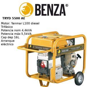 Generador Electrico BENZA TRYDS 5500 Yanmar Diesel TRIFASICO
