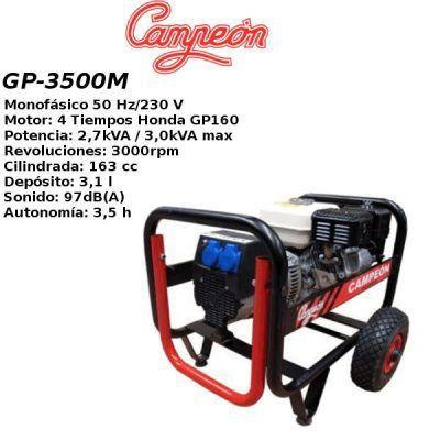 Generador electrico campeon GP3500M
