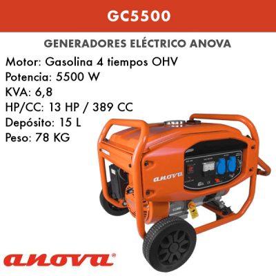 Generador electrico Anova GC5500