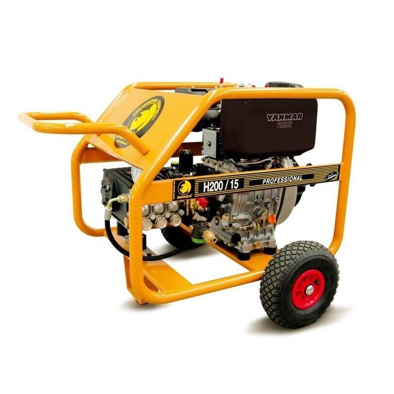 Hidrolimpiadora Diesel BENZA H 200 15 YS motor YANMAR A/E