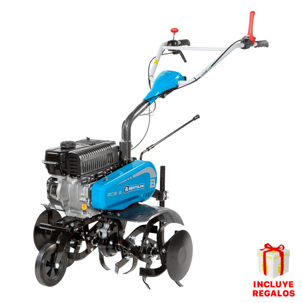 motoazada bertolini 205 s + aporcador + ruedas + portaperos 182 cc