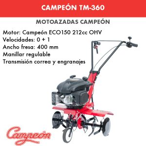 motoazada campeon tm360