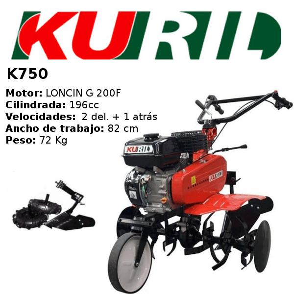 Motoazada gasolina Kuril K750
