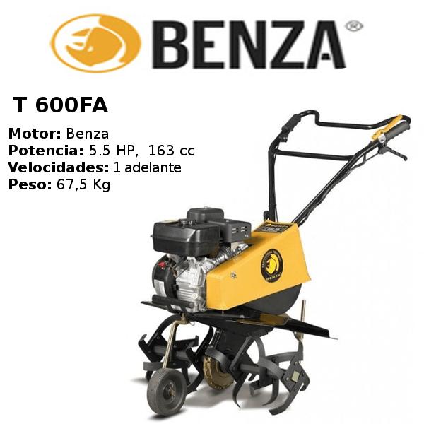motocultor-benza-T 600FA