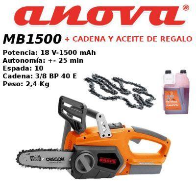 Motosierra Anova MB1500