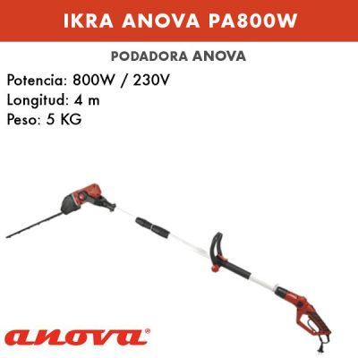Podadora eléctrica Ikra Anova PA800W