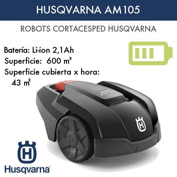 Robot cortacésped Husqvarna AM105