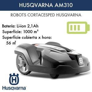 Robot cortacésped Husqvarna AM310