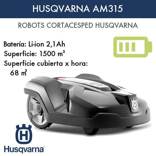 Robot cortacésped Husqvarna AM315