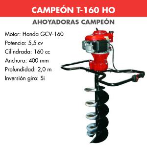 Ahoyadora Campeon T-160 HO