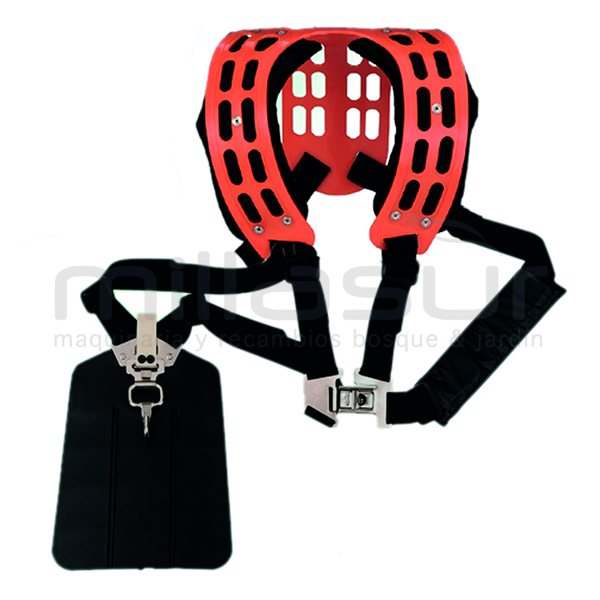Automatic foam-plastic harness with automatic release 99-1251