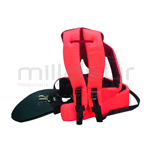 Professional harness with lumbar protection 99-1252