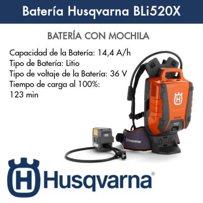 Batería Husqvarna BLi520X