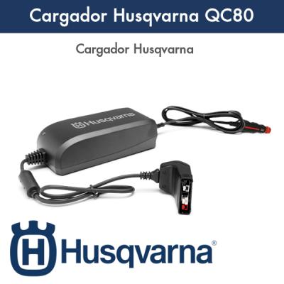Cargador Husqvarna QC80