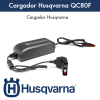 Cargador Husqvarna QC80F