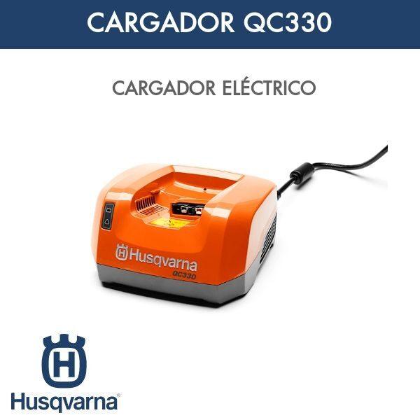 Cargador QC330 Husqvarna