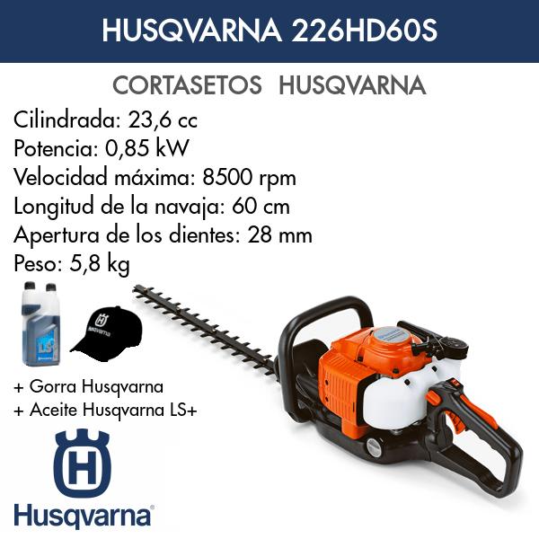 Cortasetos Husqvarna 226HD60S