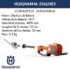 Cortasetos Husqvarna 536LiHE3