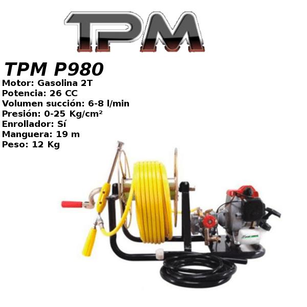 Grupo Pulverización TPM P980