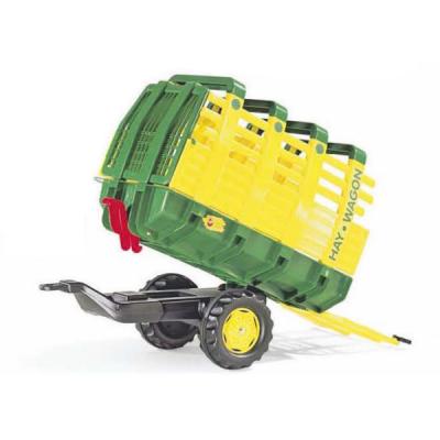 Remolque cargador para tractor a pedales
