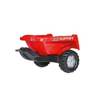 Remolque rojo para tractor a pedales