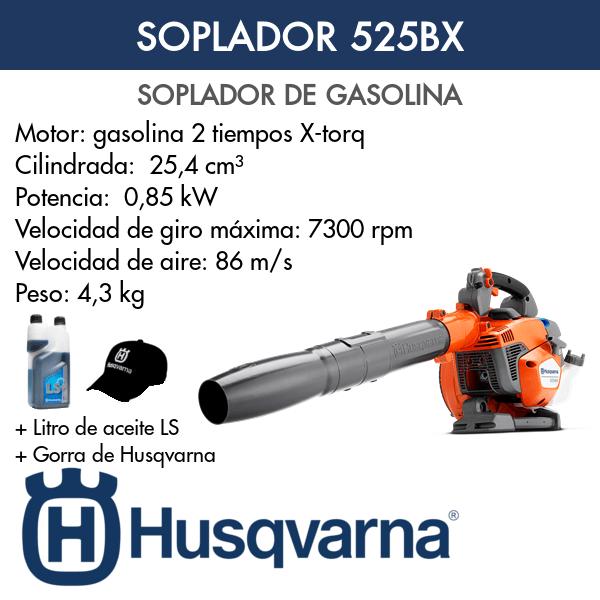 Soplador Husqvarna 525BX