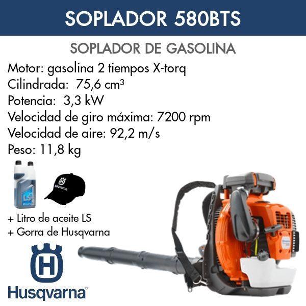 Soplador Husqvarna 580BTS