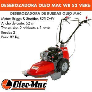 Desbrozadora de ruedas OM WB 52 BVR6