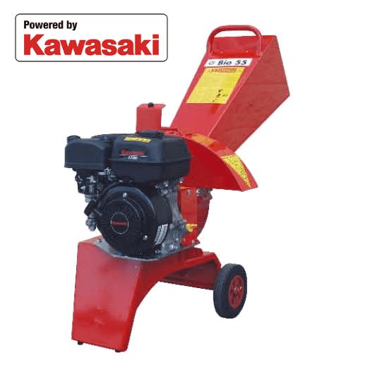 Trituradora de ramas CARAVAGGI Bio 55 Kawasaki
