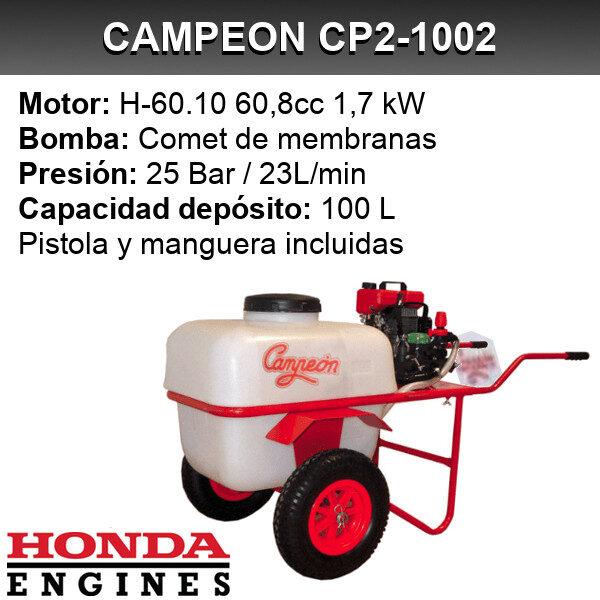 Carretilla sulfatadora Campeon CP2 1002