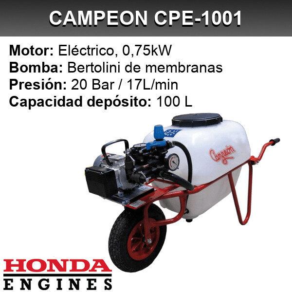 Carretilla sulfatadora Campeon CPE-1001
