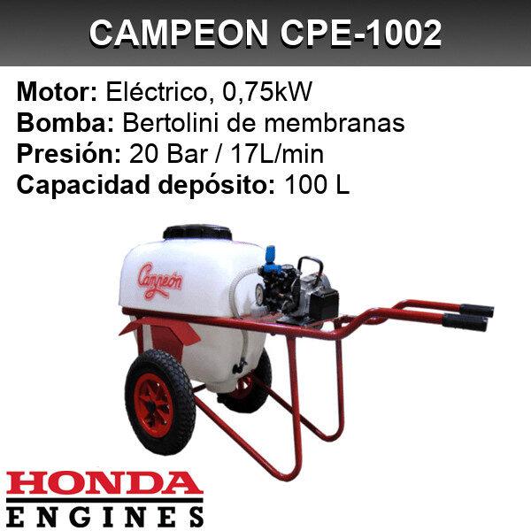 Carretilla sulfatadora Campeon CPE 1002