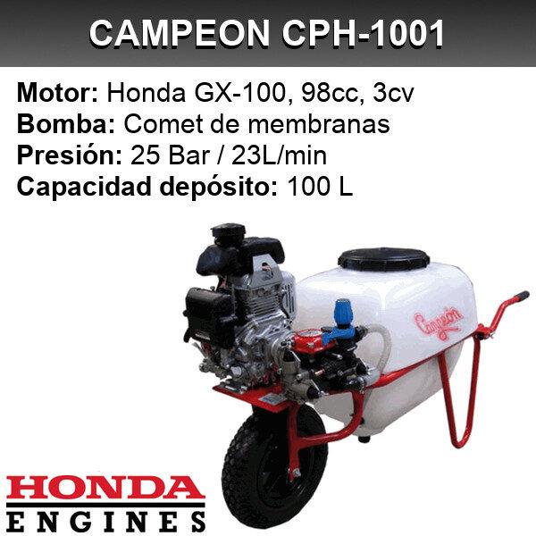 Carretilla sulfatadora Campeon CPH-1001