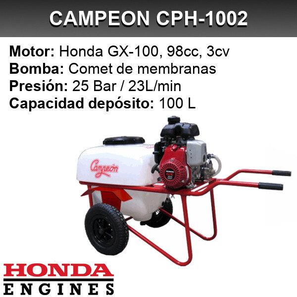 Carretilla sulfatadora Campeon CPH-1002