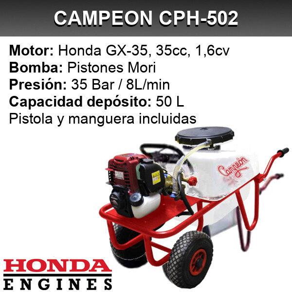 Carretilla sulfatadora Campeon CPH-502