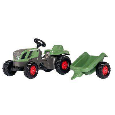 tractor fendt 516 vario con remolque