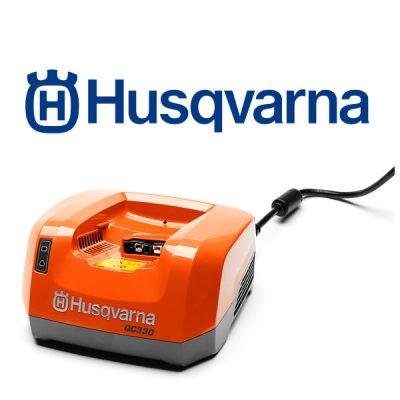 cargador Husqvarna QC330