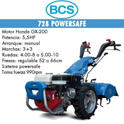 Motocultores gasolina BCS 728