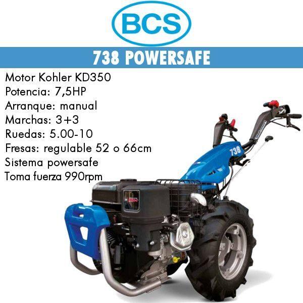 motocultores diesel BCS 738