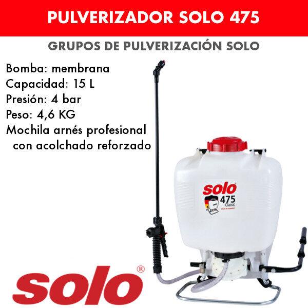 pulverizador Solo 475