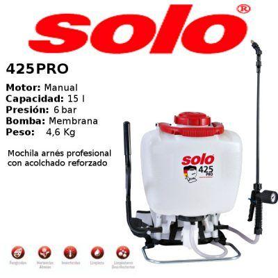 Pulverizador Manual SOLO 425 PRO