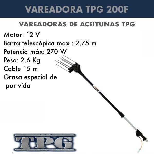 Vareadora de aceitunas TPG 200F
