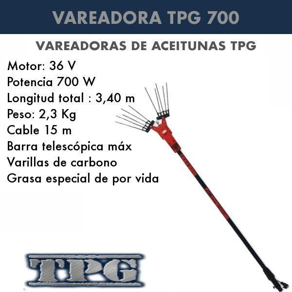 Vareadora TPG 700