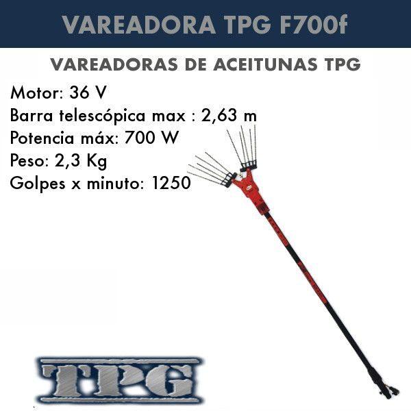 Vareadora de aceitunas TPG F700f
