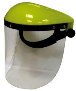 Brushcutter protection helmet