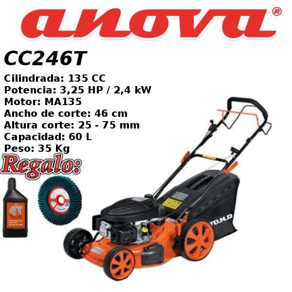 Cortacesped gasolina Anova CC246T