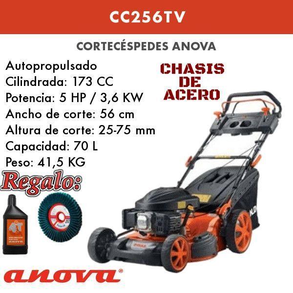 Cortacesped gasolina Anova CC256TV