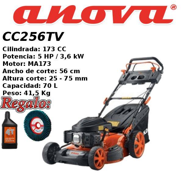 Cortacesped gasolina anova cc256tv intermaquinas online - Cortacesped de gasolina ...