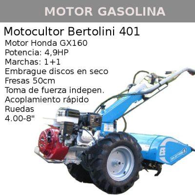 motocultor bertolini 401 honda