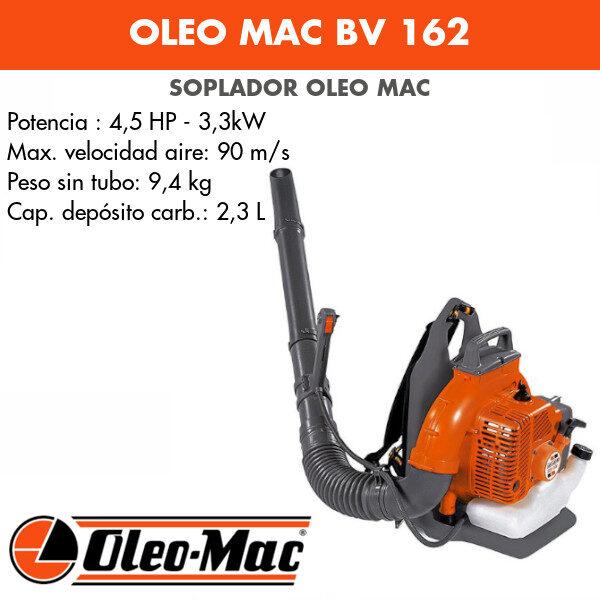 Soplador de mochila Oleo Mac BV162